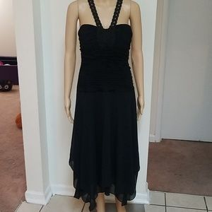 Black dress, Signature by Sangria. Size 12. NWT